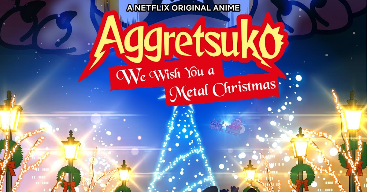 Aggretsuko Christmas.Jonnontv Netflix New Original Anime Aggretsuko We Wish