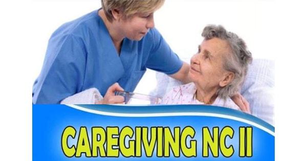 Caregiving NC II Weekends/Weekdays Schedule January - February 2019