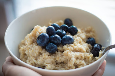Oatmeal = a great source of soluble fiber