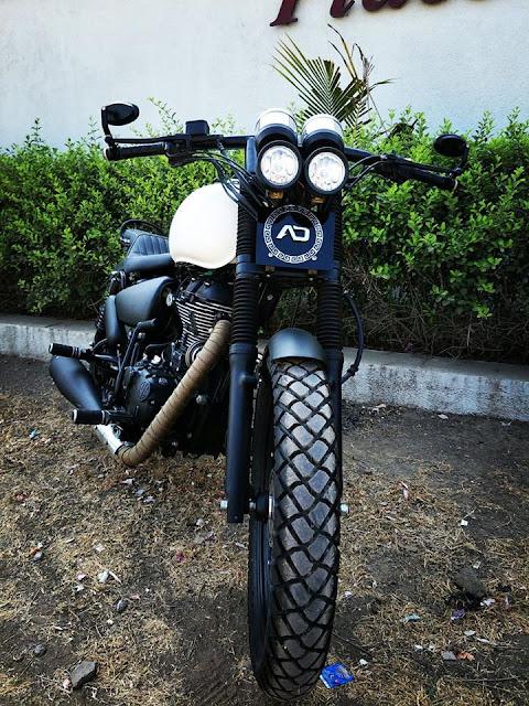 AD Customs Rajkot TBTS 500 fRONT