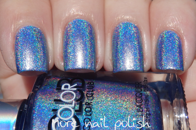 Crystal Baller A Cornflower Blue Holo While This Is One Of The Stronger Colours In Collection I Wouldn T Say Its Bright Colour It S Still On