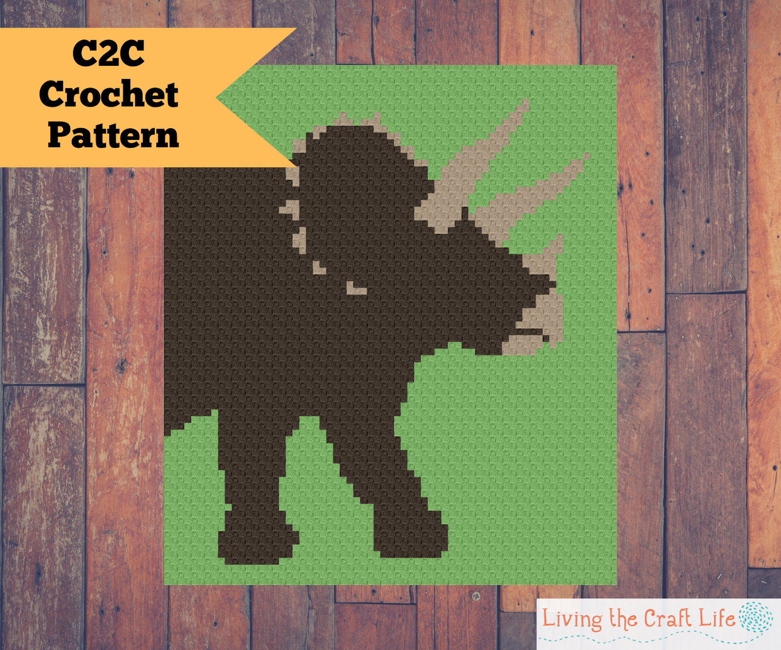 Living The Craft Life Triceratops C2c Blanket Free Graph
