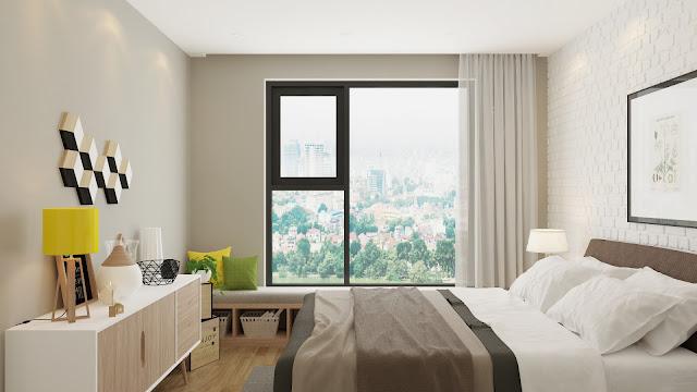 Thiết kế phòng ngủ căn hộ The Golden An Khánh