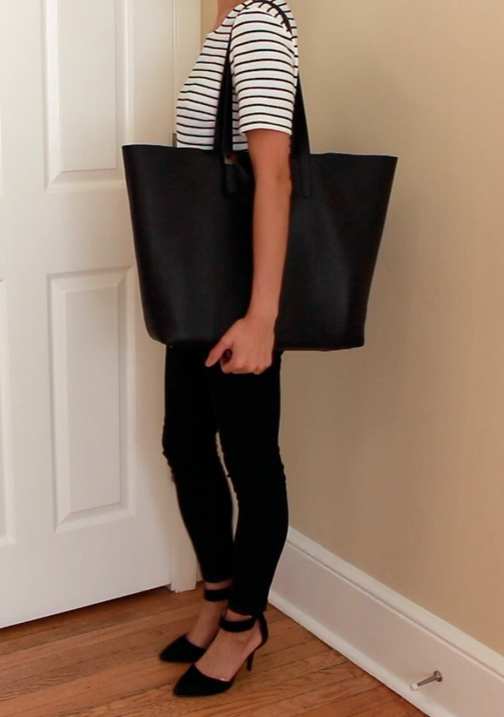 Be Linspired Everlane Petra Market Tote Review Photos