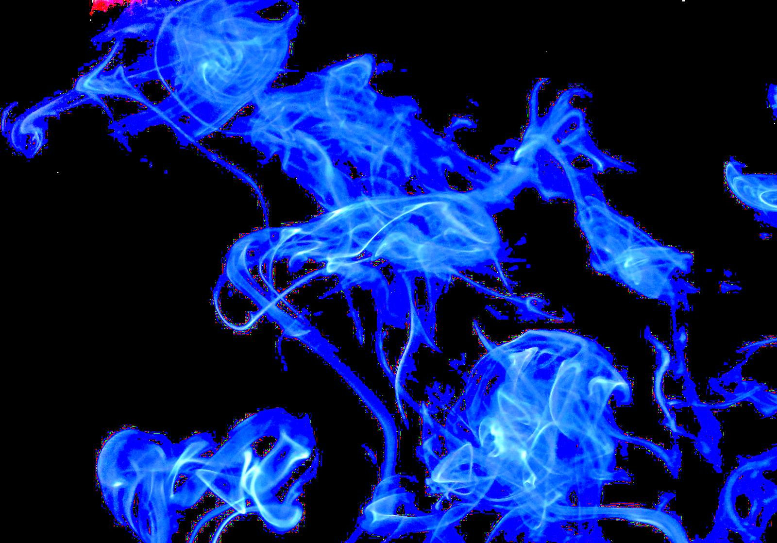 render humo azul