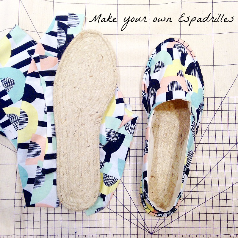 Make your own Espadrilles with the Makery