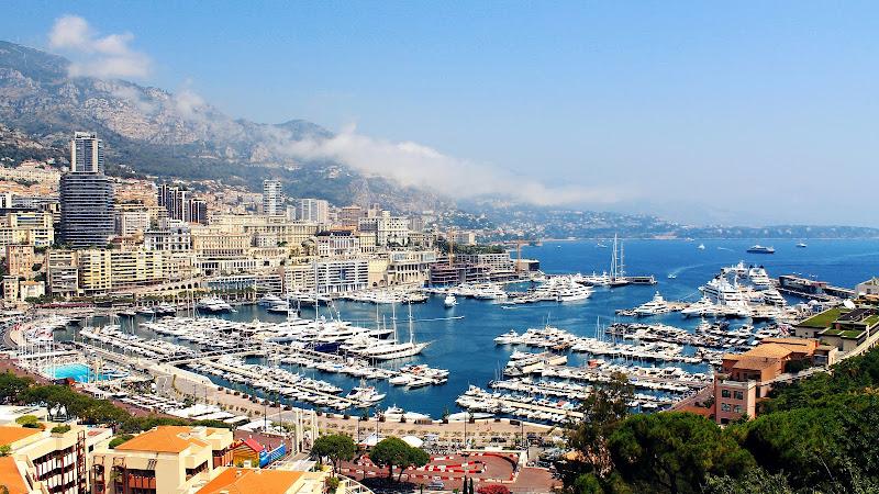 Monaco City and Harbor
