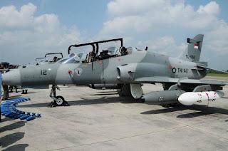 Hawk 109/209 TNI AU