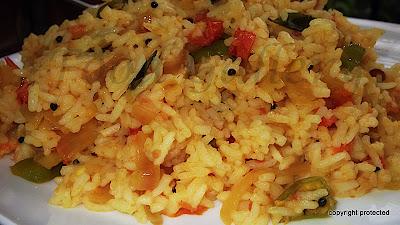 Tomato Rice, thakkai sadam