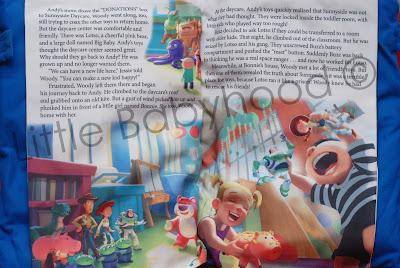 Little Babyhood Storybook Pillow Disney Pixar Toy Story