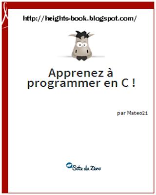 Télécharger Livre Gratuit Apprenez à programmer en C pdf