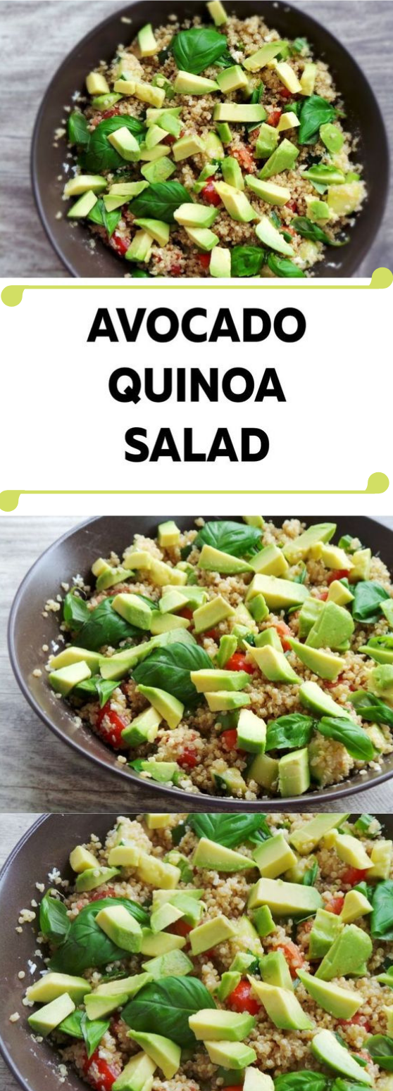 HEALTHY QUINOA SUMMER SALAD #salad #diet