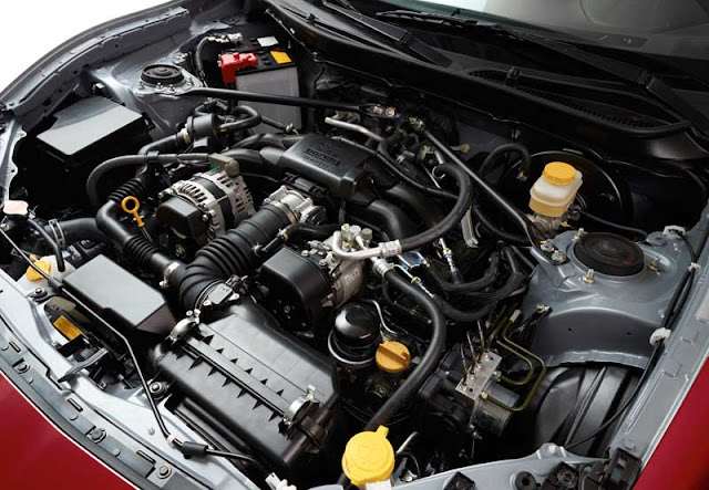 Scion FR-S engine bay - Subcompact Culture