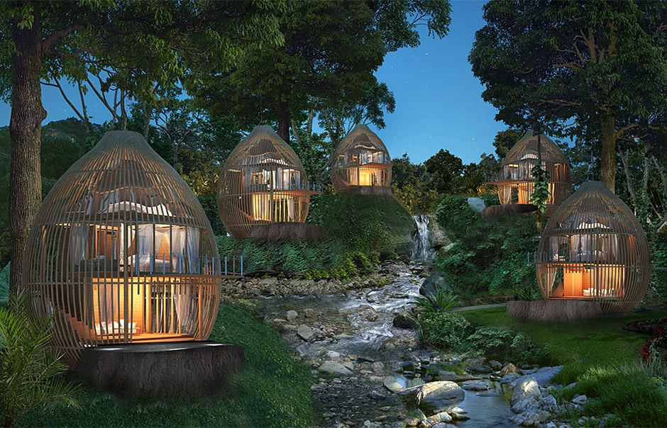 Hoteles de dise o en la naturaleza nuevos paisajes por for Arquitectura y diseno de hoteles