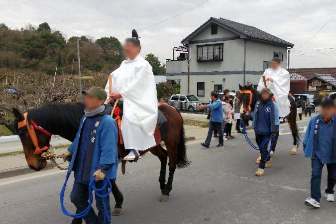 人文研究見聞録:大縣神社の奇祭・豊年祭2015(飾り車行列)