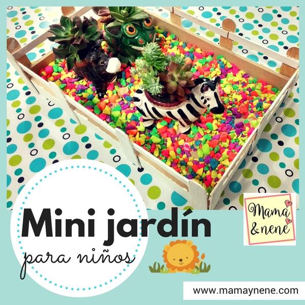 Mini jard n para ni os mam nen maternidad y recursos for Actividades para jardin