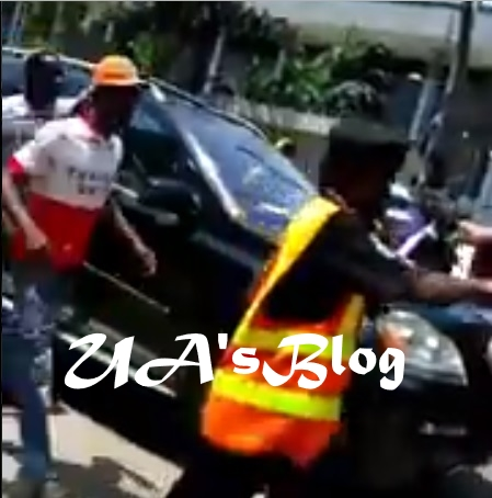 Security Guard's Manhood Allegedly Disappears After Collecting Money From A Rich Man In Lagos (Photo+Video)