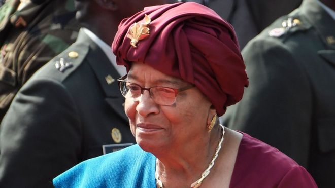 Mo Ibrahim prize: Liberia's Sirleaf wins African leadership prize