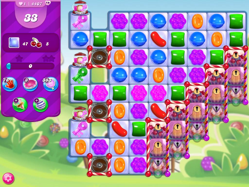 Candy Crush Saga level 4407
