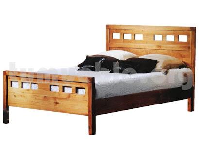 cama madera teca 4098