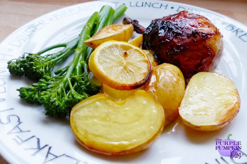 Glazed Roast Chicken with Tesco #LoveEveryMouthful