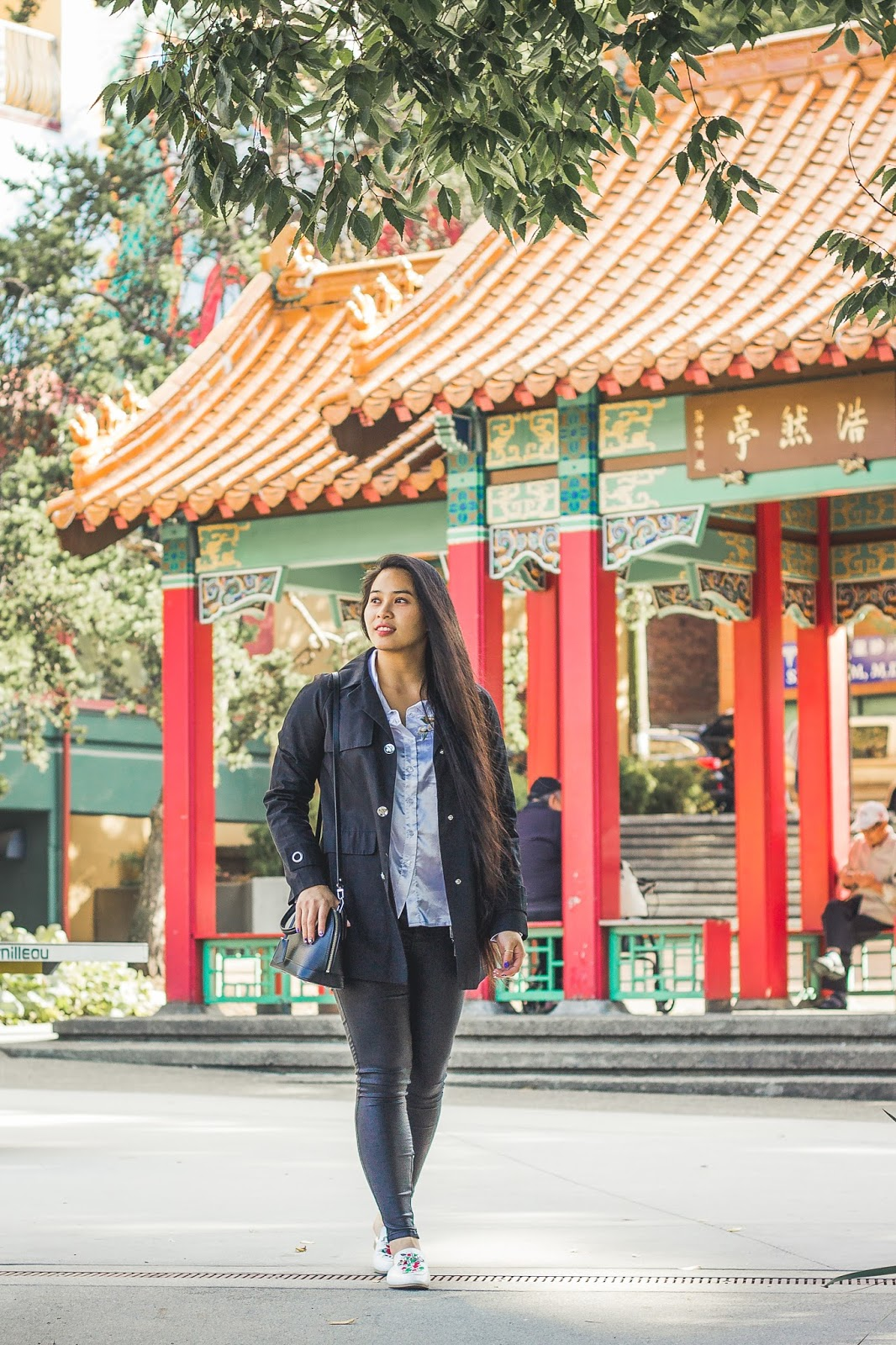 International district chinatown seattle blogger louis vuitton ootd