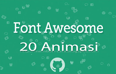 20 Animasi Font Awesome Terbaru
