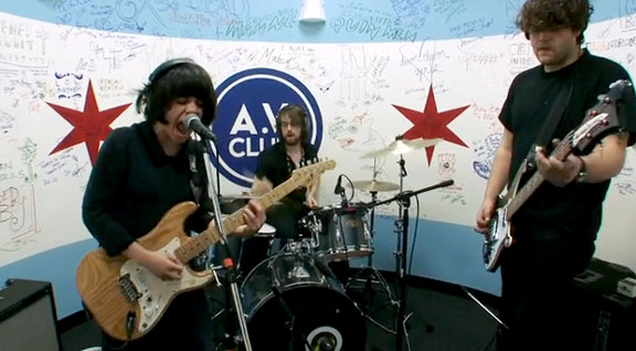 "Screaming Females cover ""If It Makes You Happy"" on A.V. Club - Marissa is GOD"