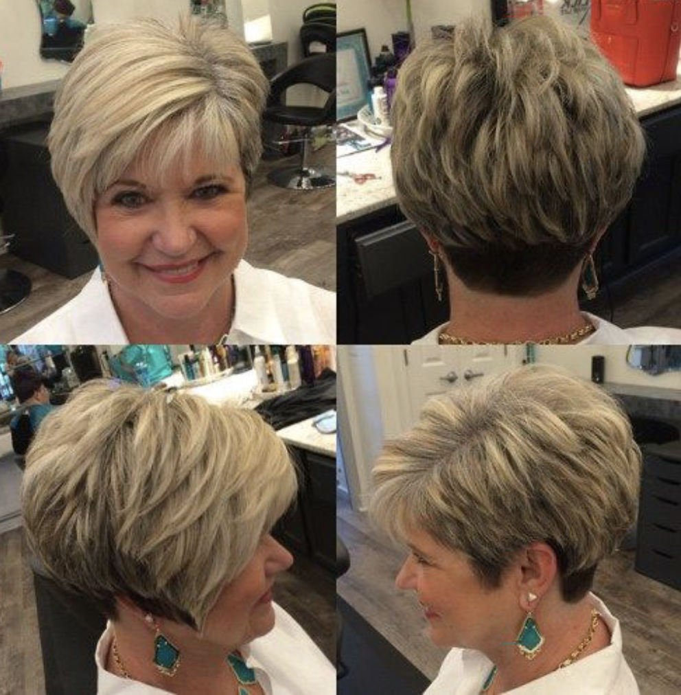 50+ Best Short Pixie Haircuts for Older Women 2019 -  LatestHairstylePedia.com
