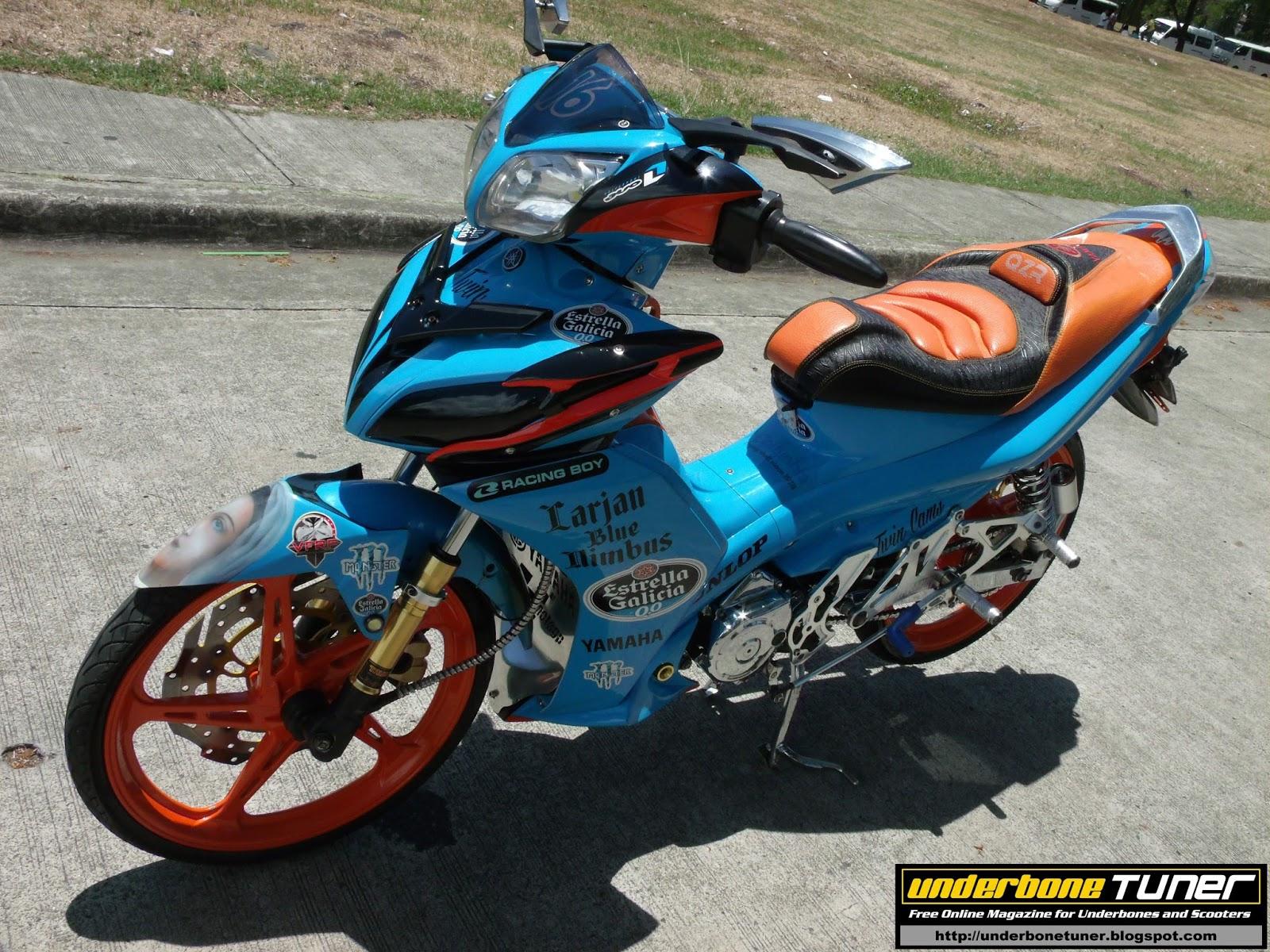 Underbone Tuner: Estrella Galicia MotoGP Inspired Yamaha