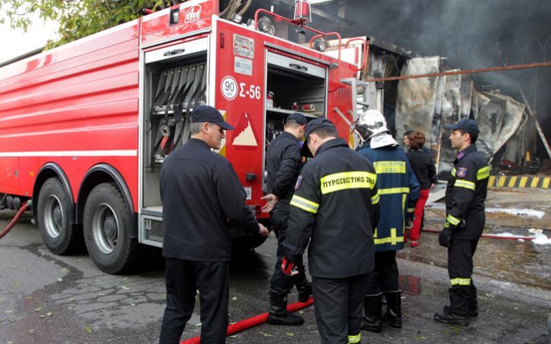 Κάηκε ολοσχερώς μονοκατοικία στη Χαλκιδική