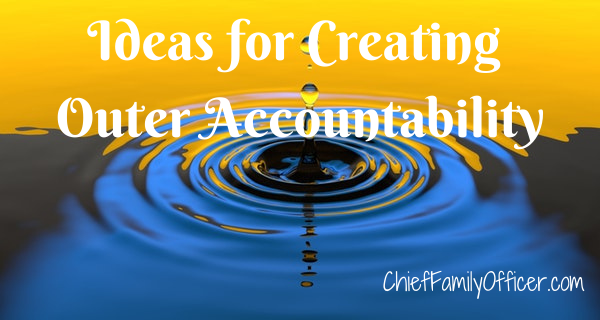 Ideas for Creating Outer Accountability