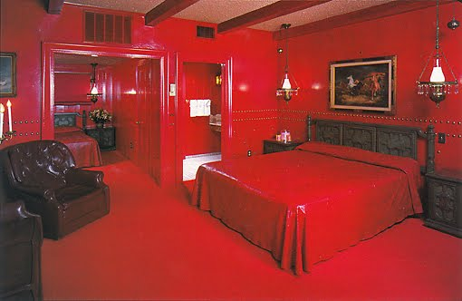 red color in the bedrooms of a special character the colors of red