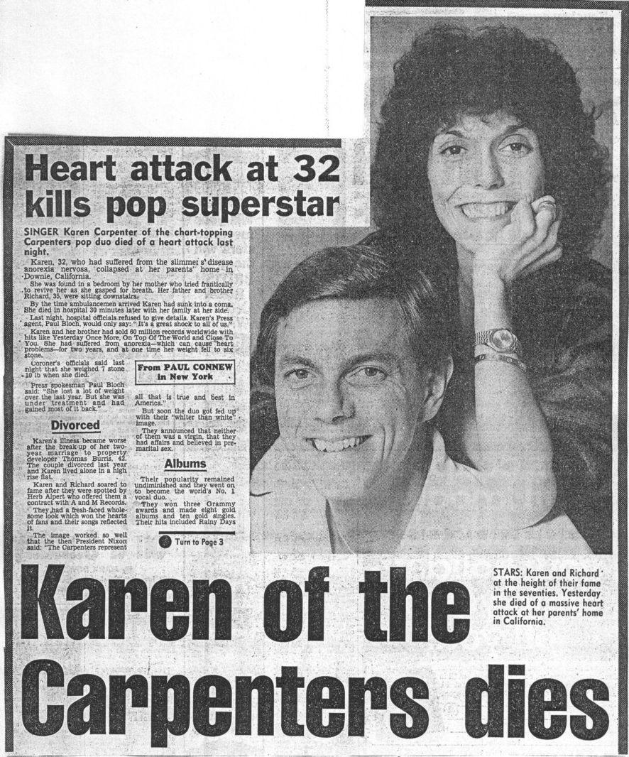 The Tragic Story of Karen Carpenter  A Beautiful Voice