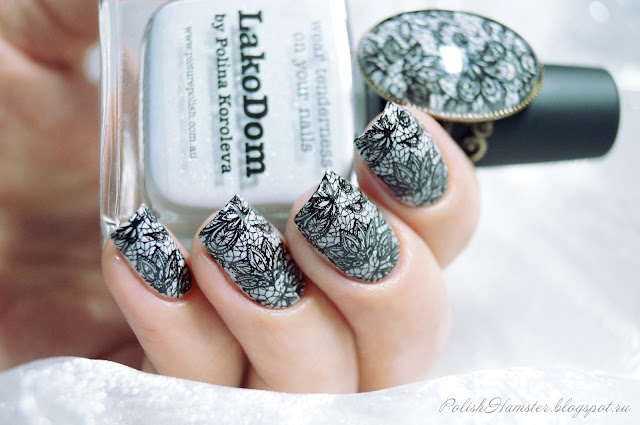 Picture Polish LakoDom и Dana 2 stamping plate