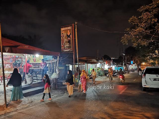 Best Satay Stalls in Batam. Warung Sate Kendal