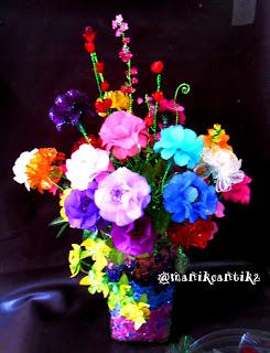 Bunga manik cantik  unik 01
