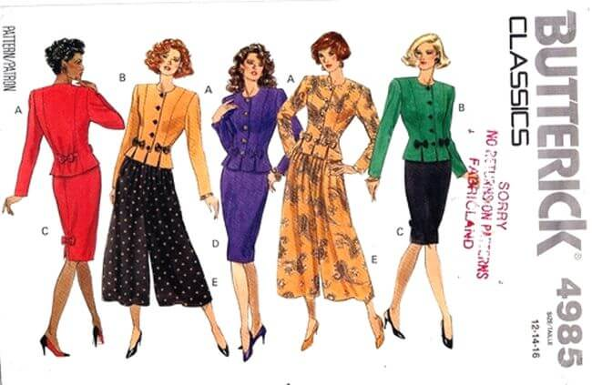 Wiki Releases Over 83,500 Vintage Sewing Patterns Of Pre-1992 Online ...