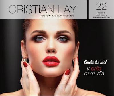 Cosmeticos Cristian Lay Campaña 22 2016