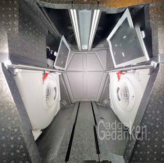 Innenansicht der  Zehnder ComfoAir Q350 TR