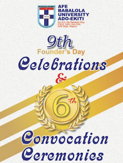 ABUAD 6th Convocation Ceremonies & 9th Founder's Day Programme of Events