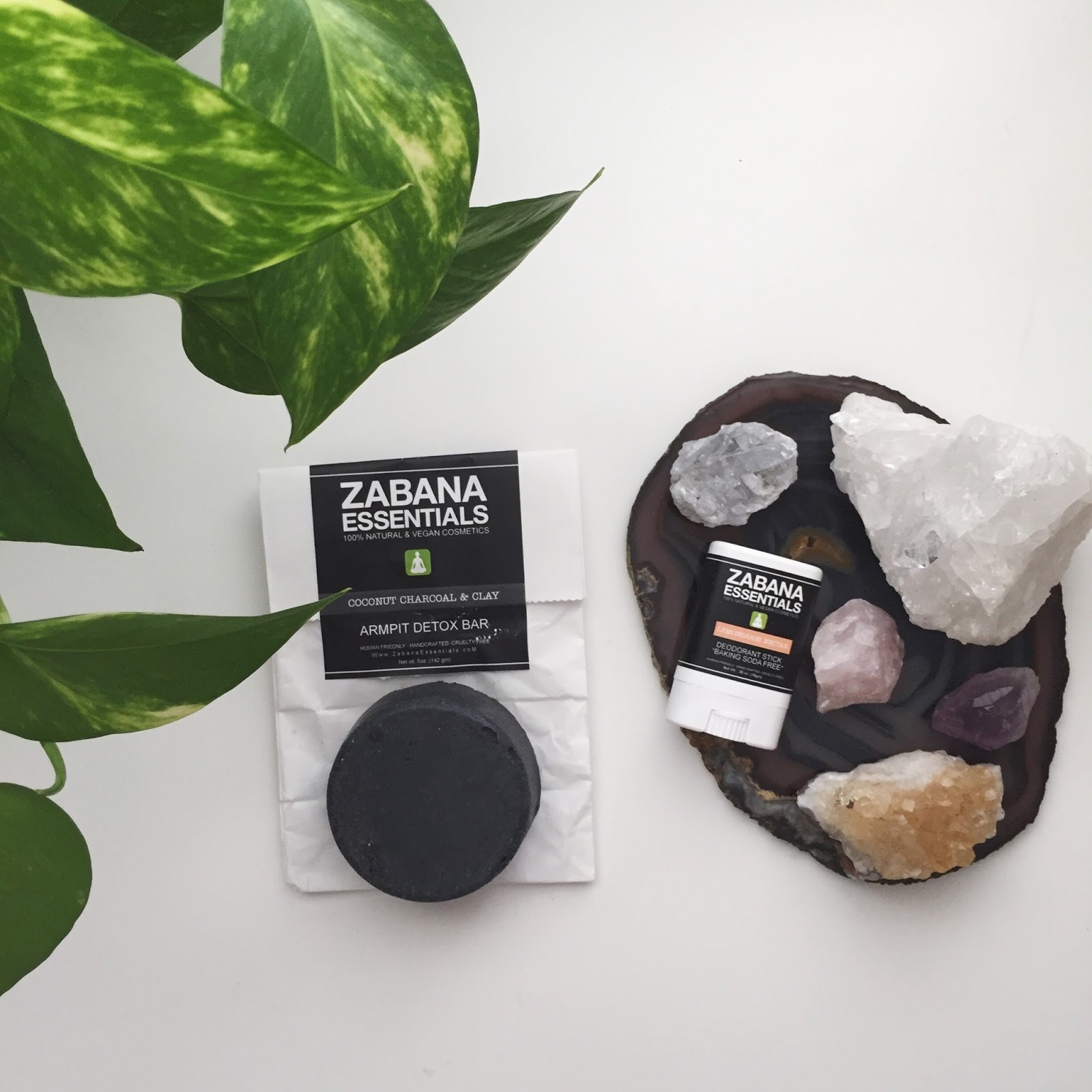 Zabana Essentials Baking Soda Free Deodorant and Armpit Bar Review