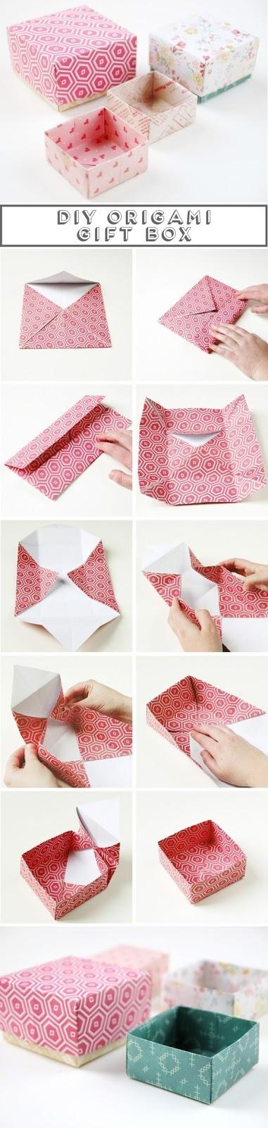 DIY Easy Origami Christmas Tree Tutorial Via JoeNakashima Step By Gift