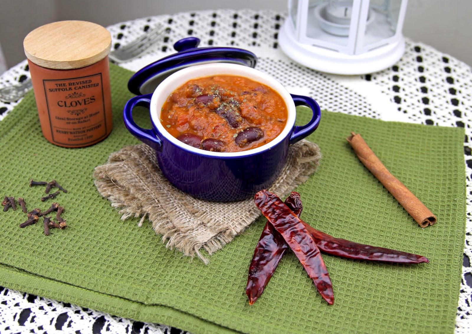 Rajma Masala, potrawka z czerwonej fasoli