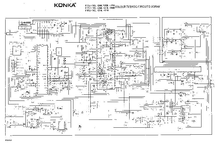 MAITEC Audio y Video     Diagram       TV       KONKA    K1369U