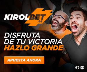 Kirolbet nueva casa de apuestas online en JRVM