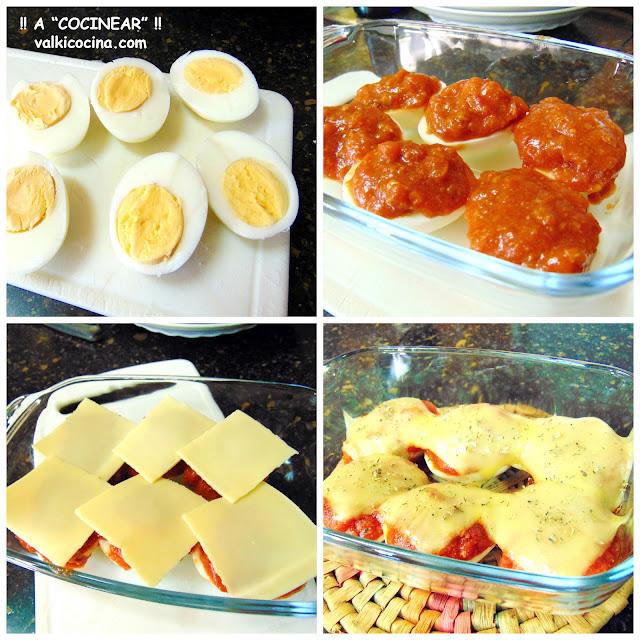 Huevos a la boloñesa