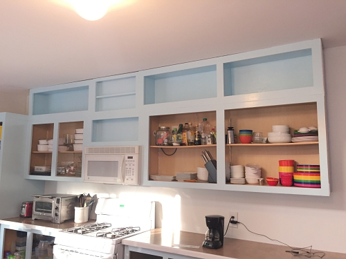 extending cabinets to the ceiling