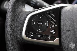 '16 Civic volume on steering wheel