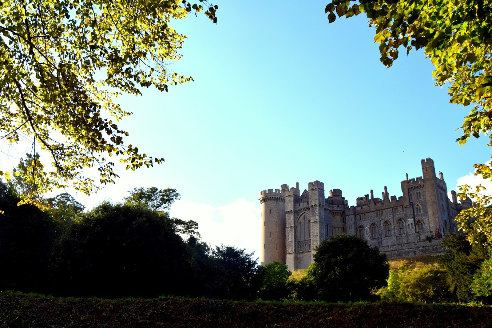 Arundel Castle In Autumn
